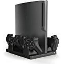 Venom Vertical Charging Stand (Vertical Stand + Charger) / [PS3]